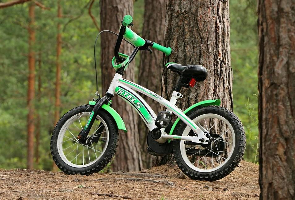 rozpoczecie nauki jazdy na rowerze