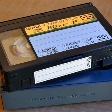 Zapomniane skarby, czyli… filmy na kasetach VHS