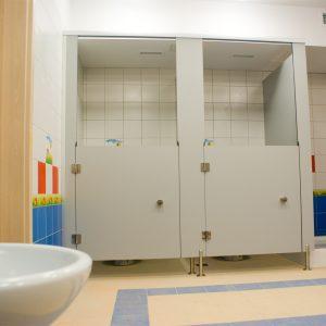 kabina przedszkolna WC