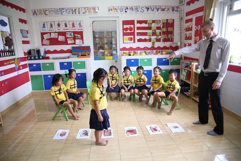 przedszkole prywatne - zabawy